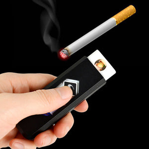 USB Electronic Rechargeable Battery Flameless Cigar Cigarette Lighter New Arrival Hot Sell