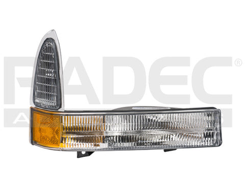 CUARTO FRONTAL  F-350/SUPER DUTY/EXCURSION 02-04 BICOLOR DEPO DER