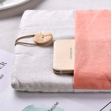Load image into Gallery viewer, Light Pink 13 inch Macbook Pro & Air Sleeve