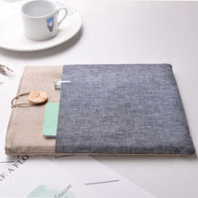 Load image into Gallery viewer, Camel Grey 13 inch Macbook Pro & Air Sleeve