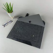 Load image into Gallery viewer, Black 13 inch Macbook Pro & Air Case