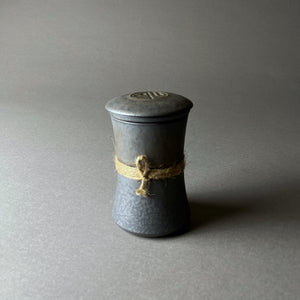 The Samurai Vintage Grey Tea Mug