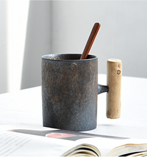 Load image into Gallery viewer, The Japanese Vintage Grey Mug