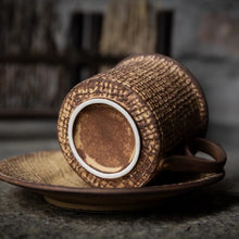 Load image into Gallery viewer, Textured Vintage Turkish Coffee Cup