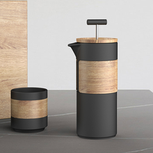 Load image into Gallery viewer, Bamboo Wood French Press & Cup