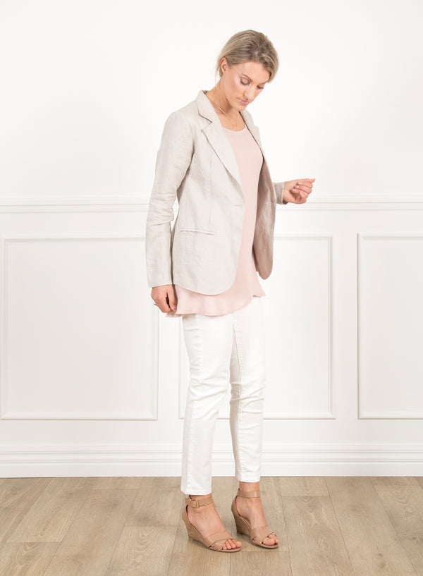 Willow Linen Blazer