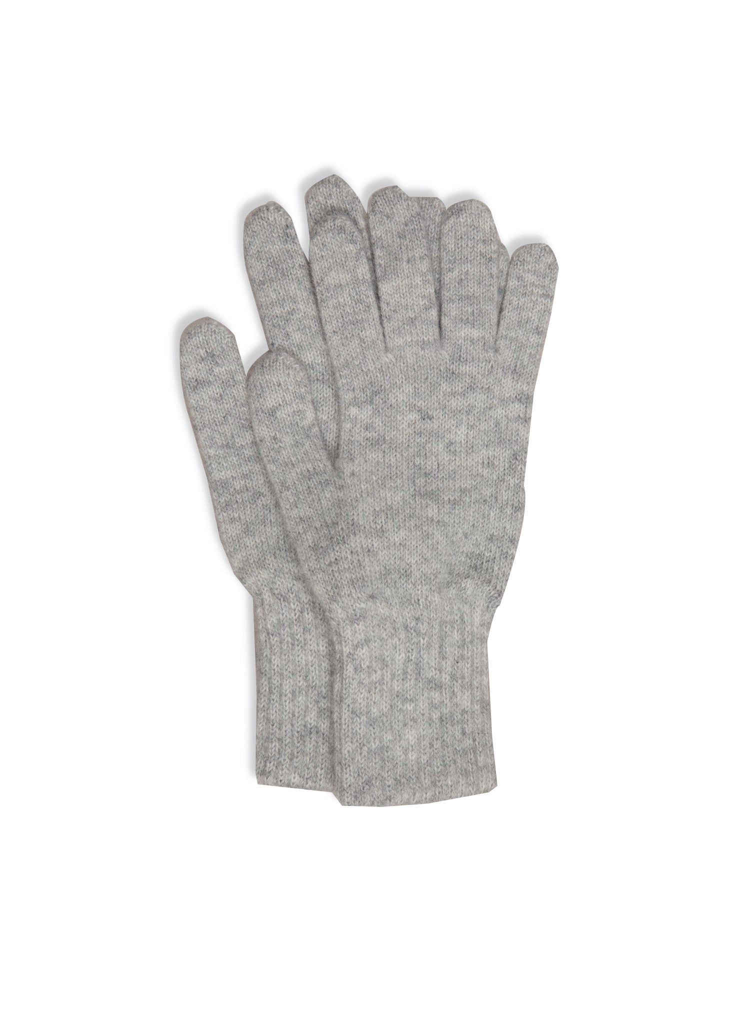 PW Merino Angora gloves - Dove