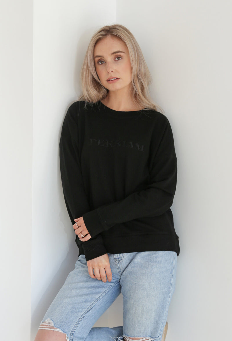 Perriam Legacy Merino Sweatshirt - Black