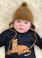 PH Baby Pom Pom Hat With Ear Flaps Pattern