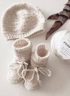 PH Seed Stitch Hat & Booties Pattern