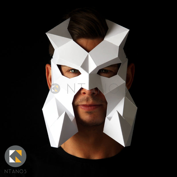 Bewilderbeast Dragon Papercraft Mask by Ntanos