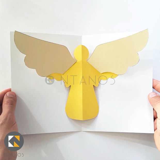 Angel Pop-up Card