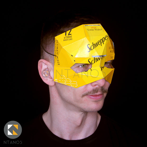 What to do with kids at home papercraft mask