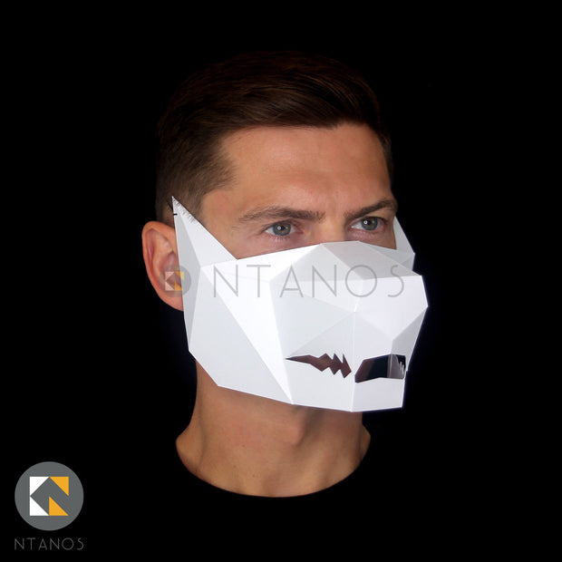 Big Bad Wolf Paper Face Mask Template Ntanos