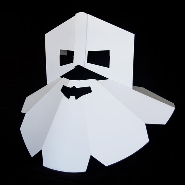Papercraft mask by Ntanos from Cardboard Kingdom