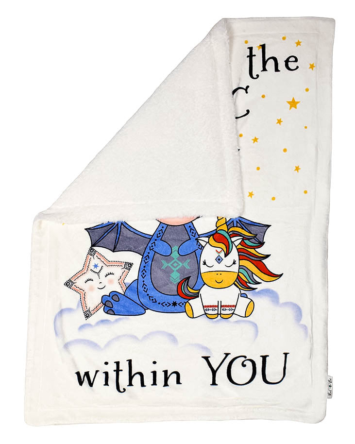 Look for the Magic Plush Blanket