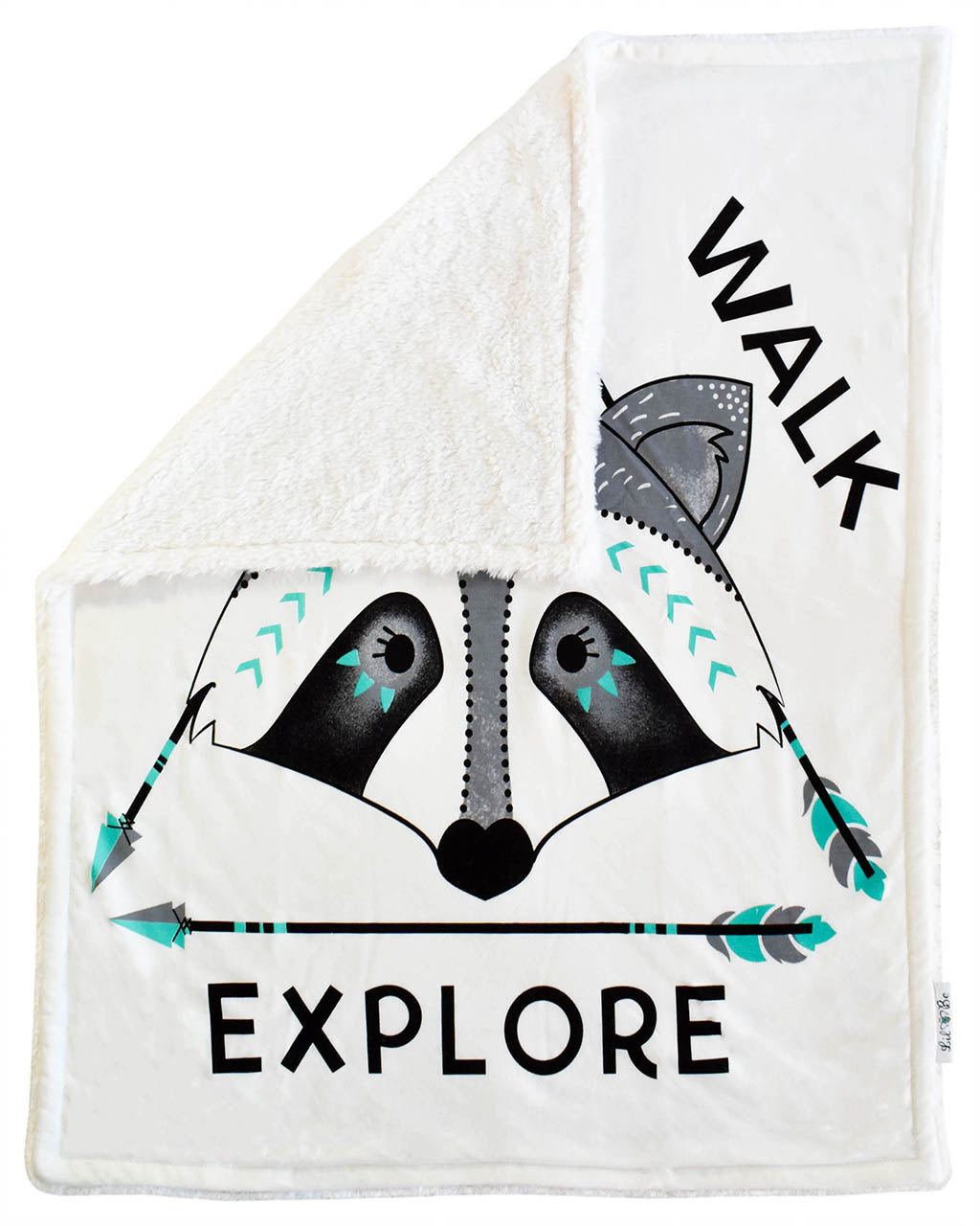 Explore Raccoon Cozy Blanket