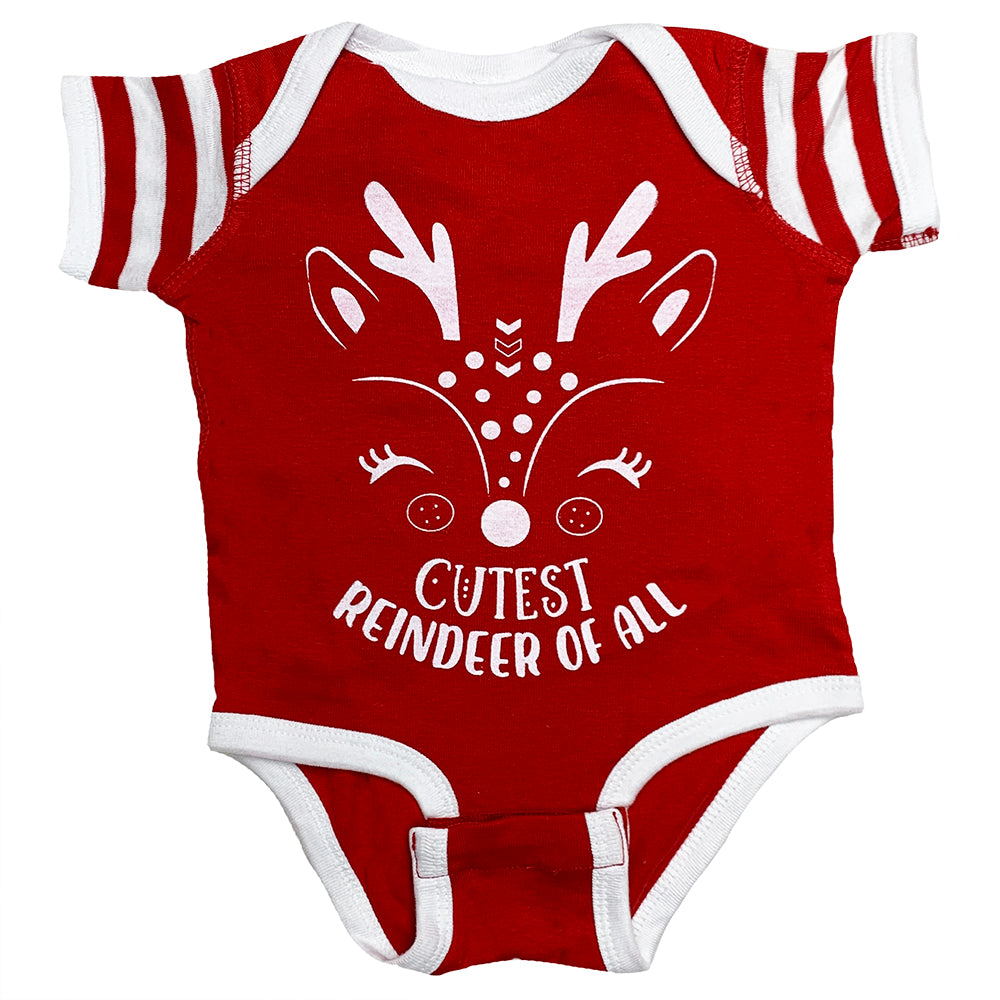 Cutest Reindeer Bodysuit