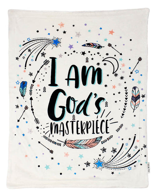 Gods Masterpiece Plush Blanket