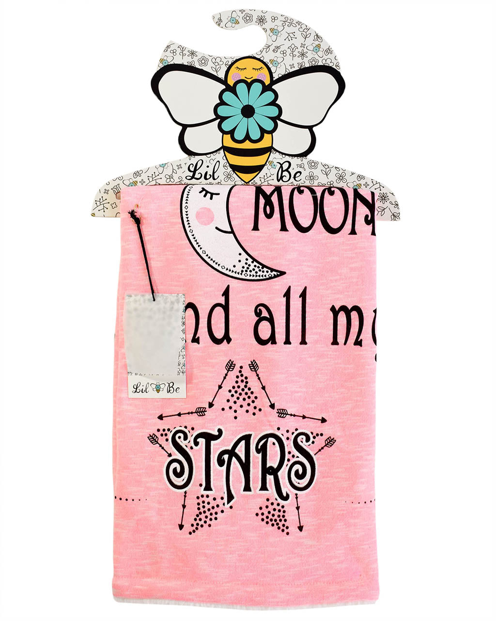 Sun Moon Star Cozy Baby Blanket in Lil Be Hanger