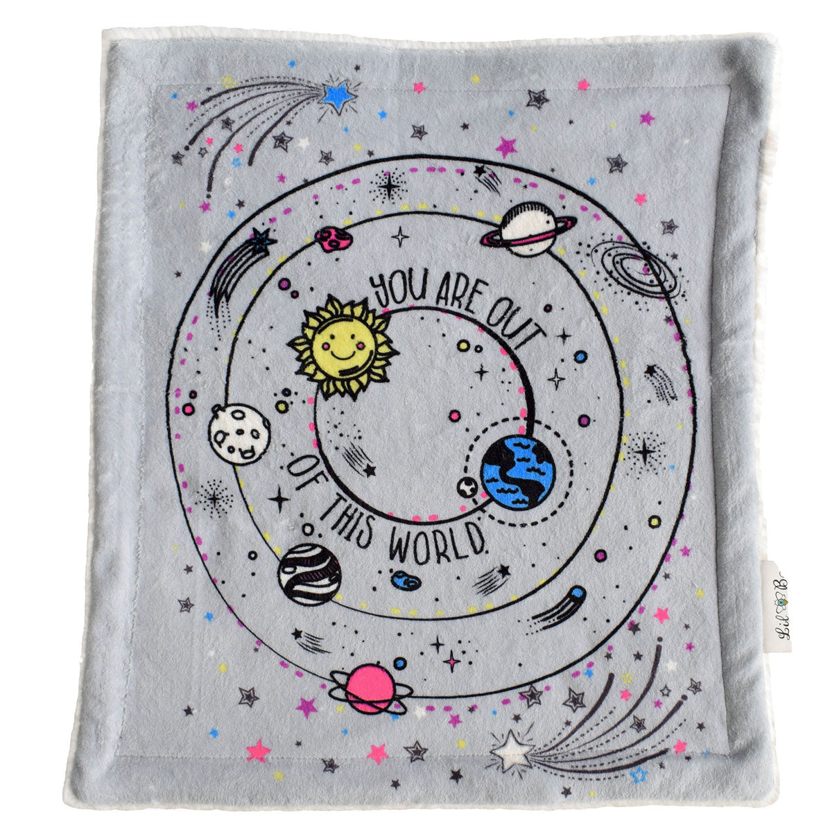 You are out of this world security blanket from Lil Be