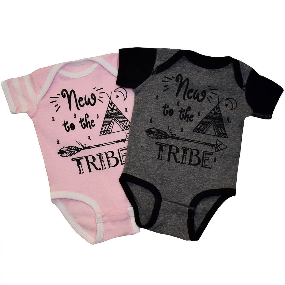 New to the Tribe Baby Bodysuit