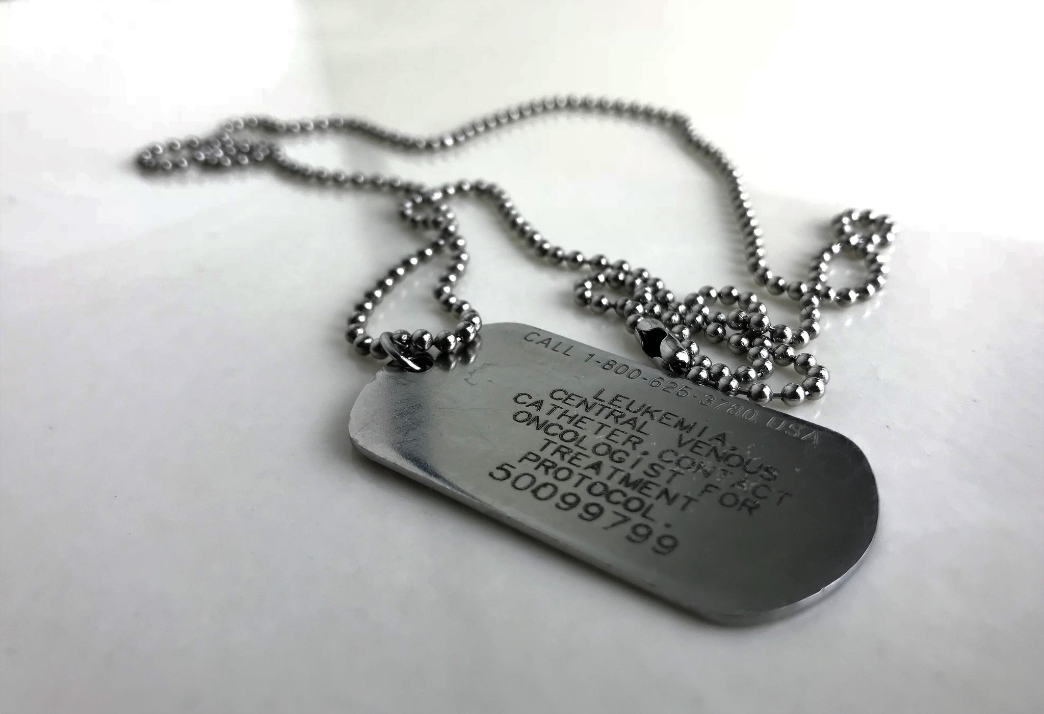 The Cancer Patient's Arsenal: Medical ID Tag