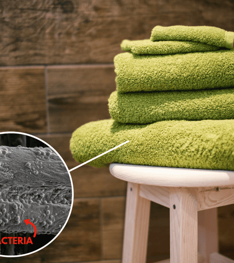 antibacterial microfiber bath towels
