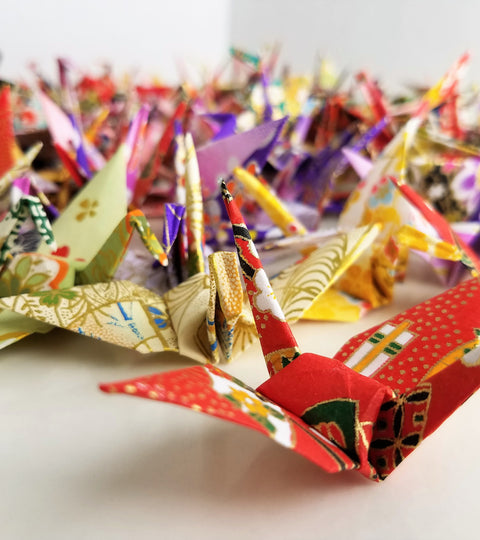 The legend of a 1000 cranes
