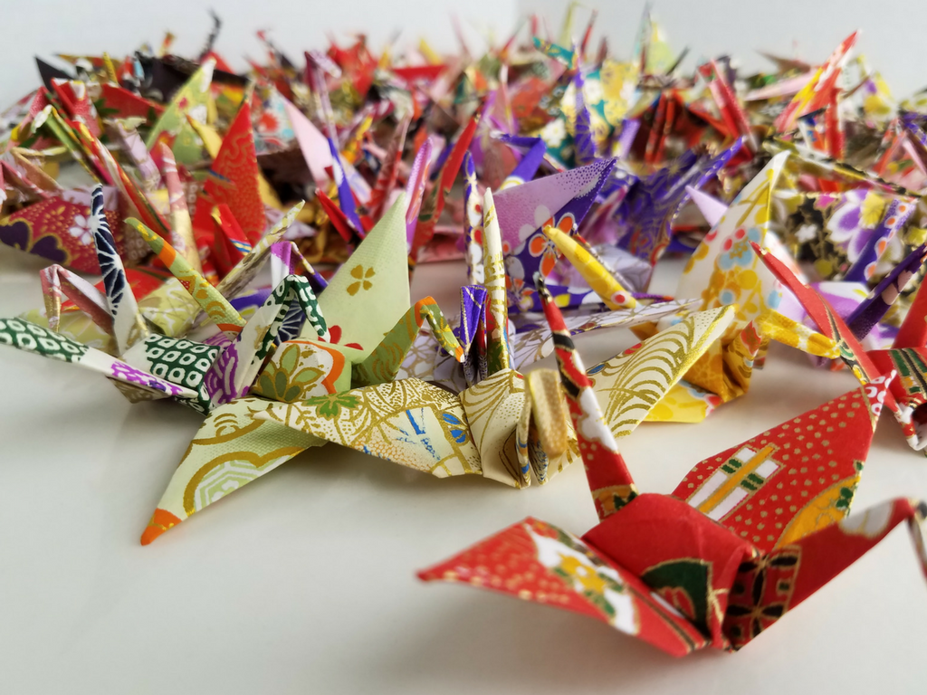 1000 origami cranes grant a pediatric cancer patient's wish
