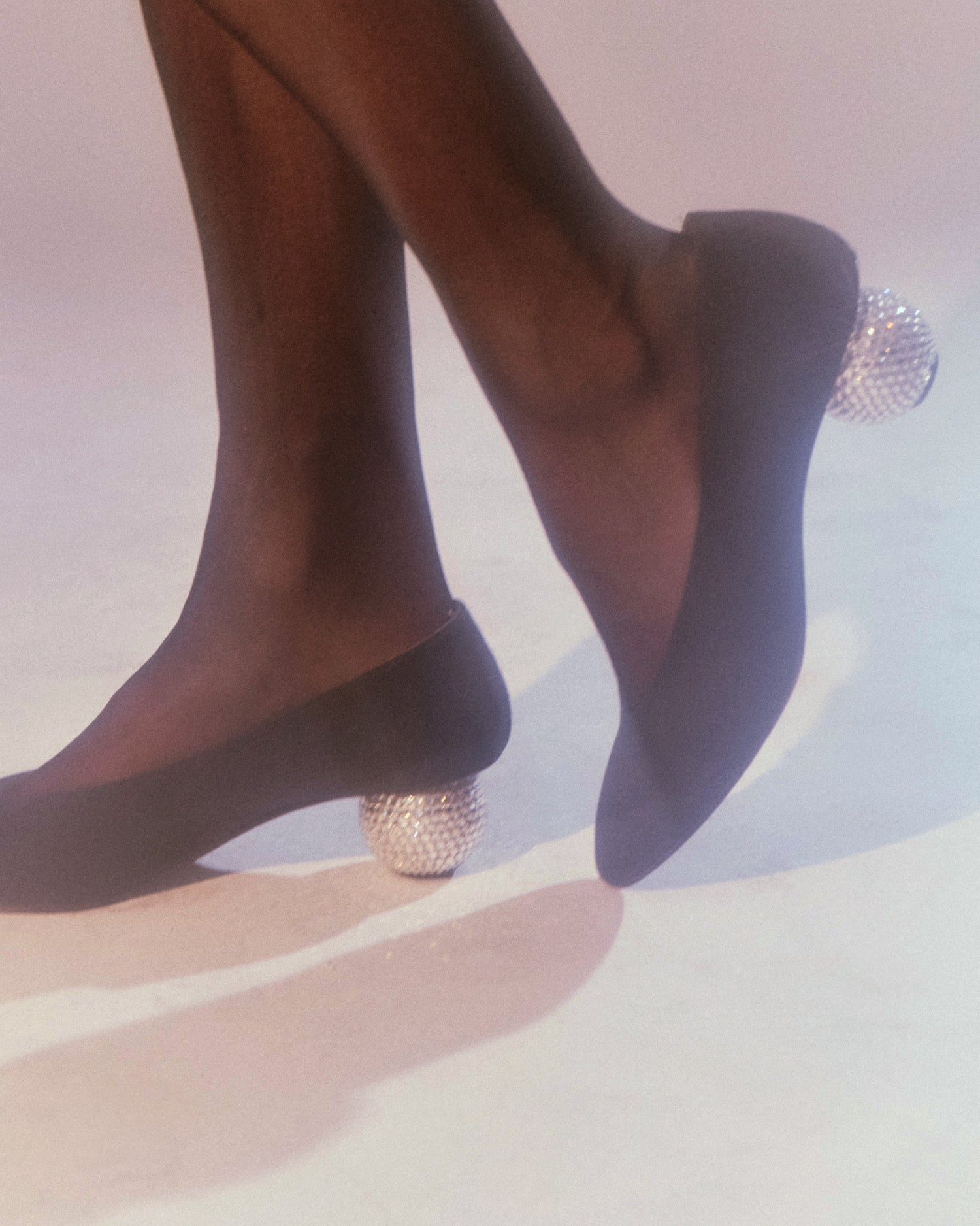 Yves Saint Laurent Disco Ball Shoes