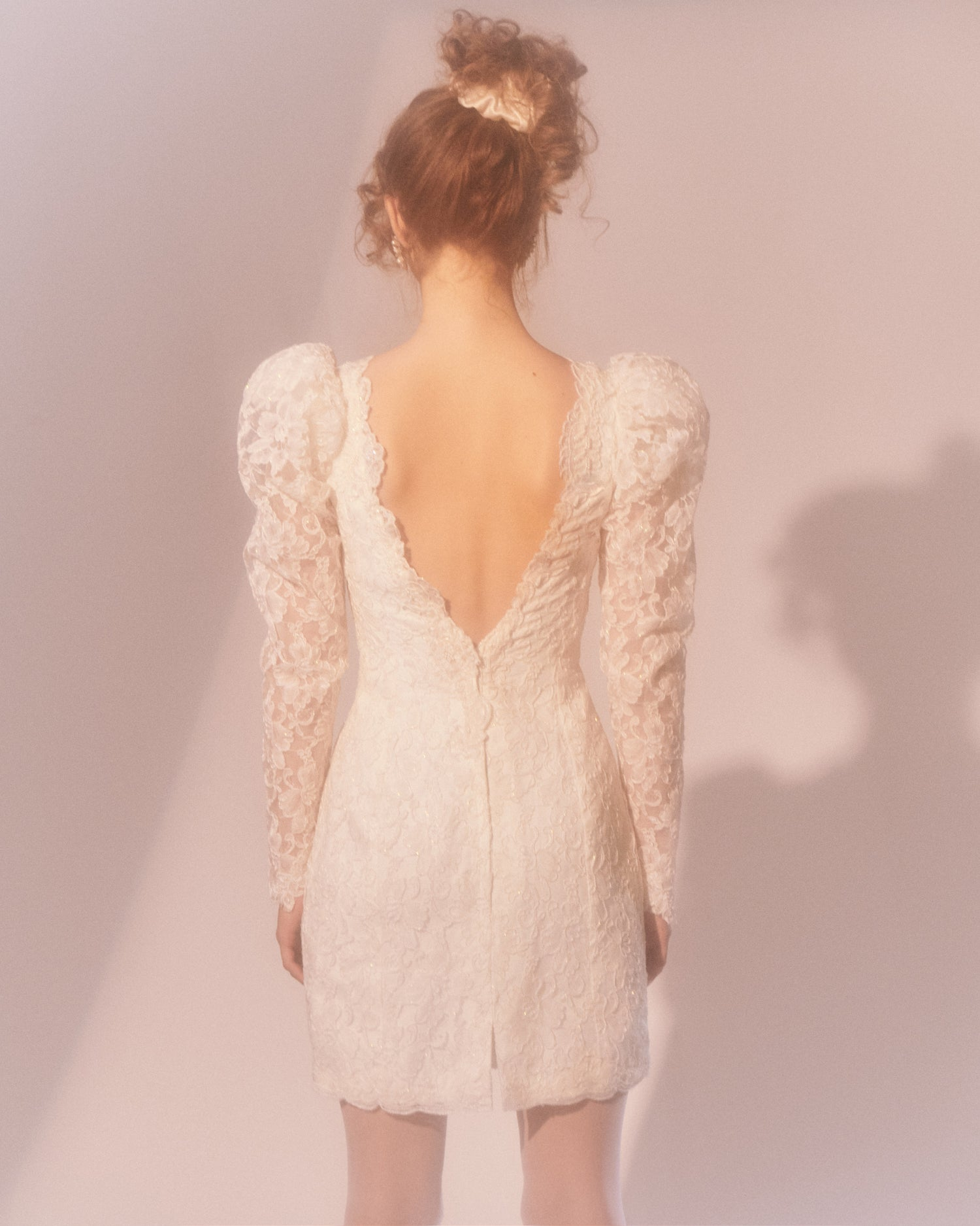 White Wedding // Lace Dress