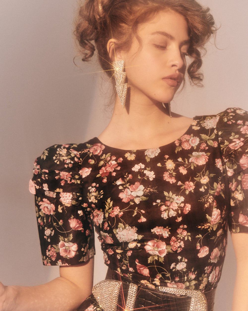Nothing But Flowers Floral Dress