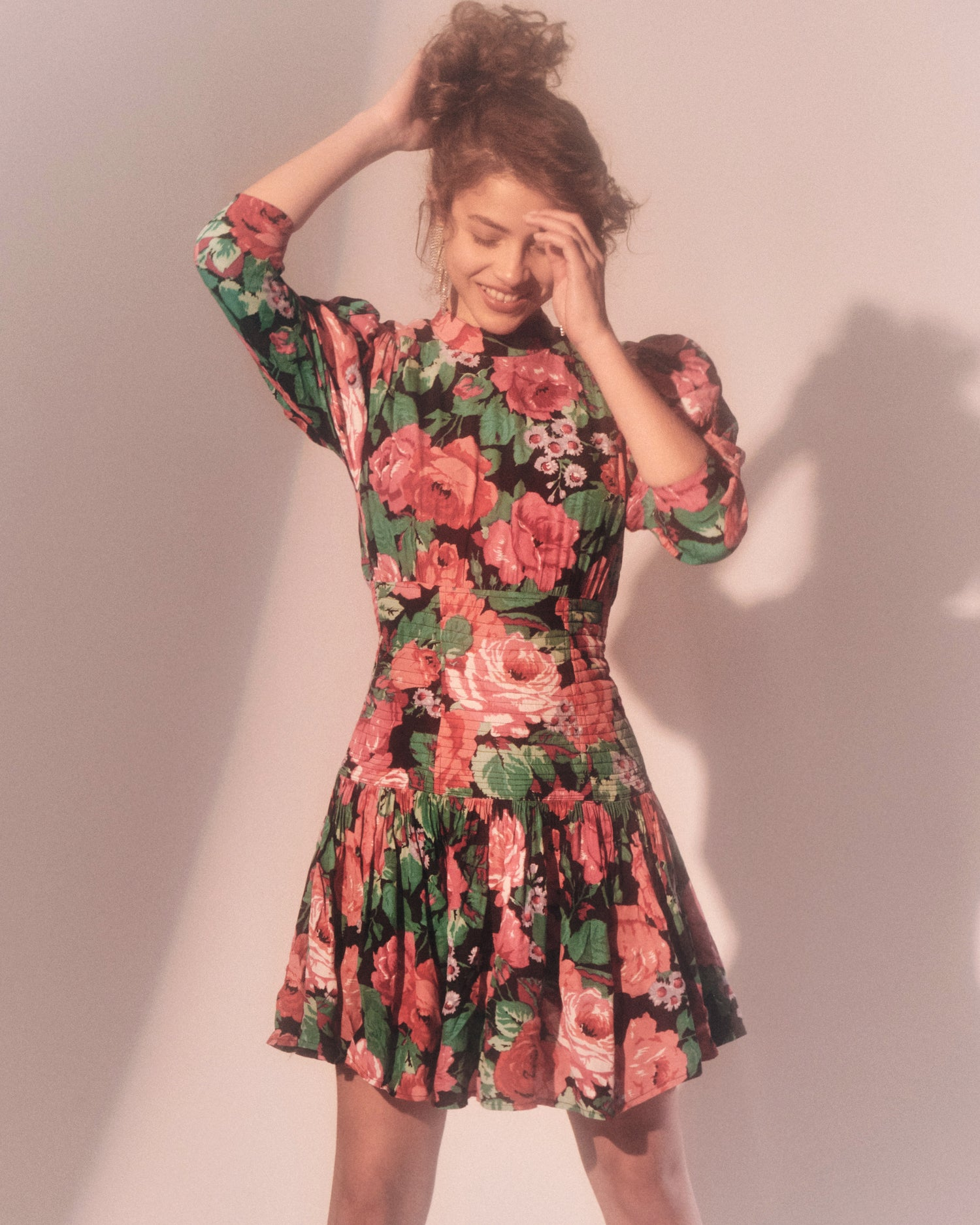 Bed of Roses Floral Dress