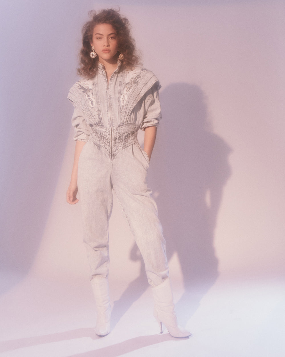 Jean Genie // Denim Jumpsuit