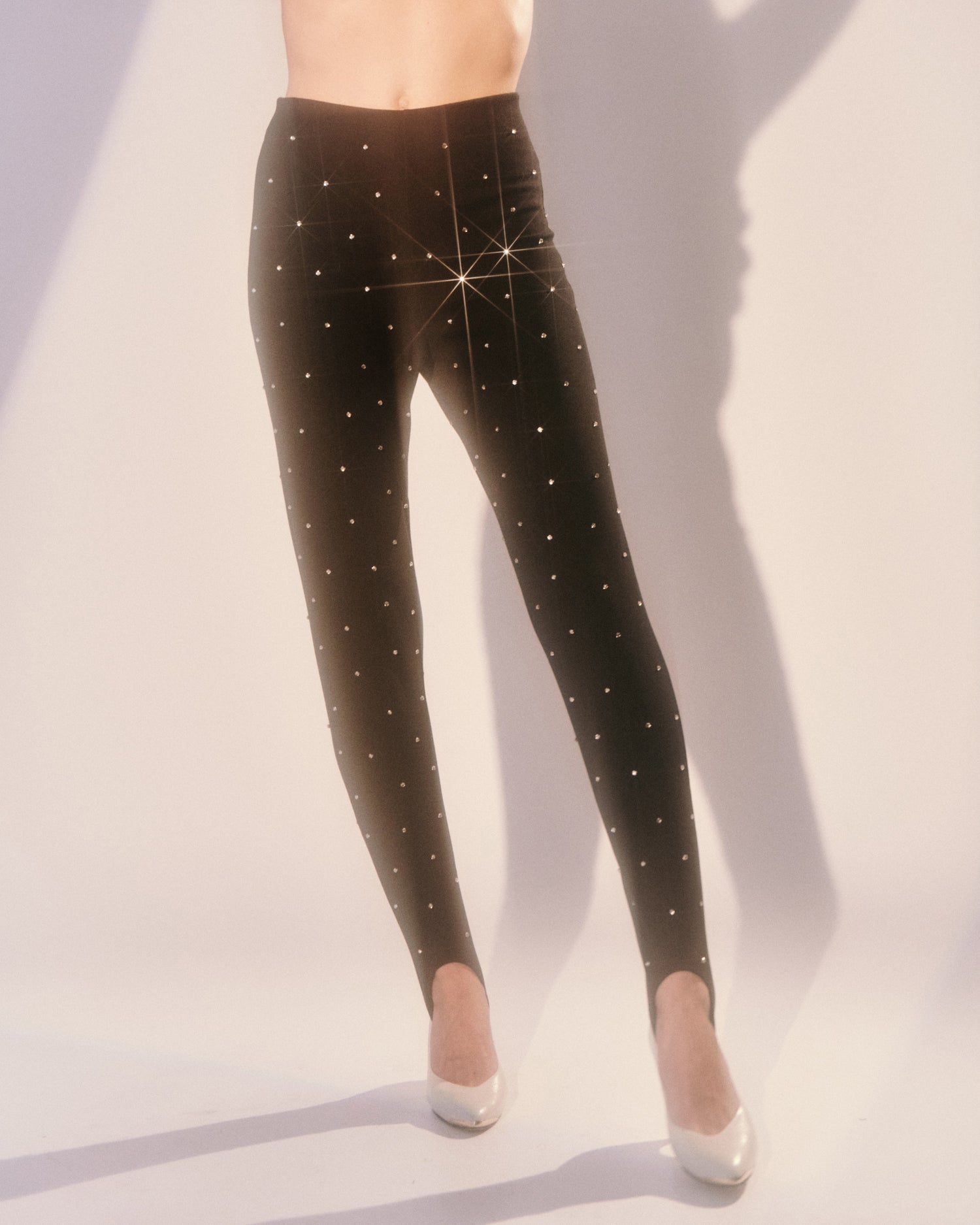 Under the Milky Way // Rhinestone Stirrup Pants