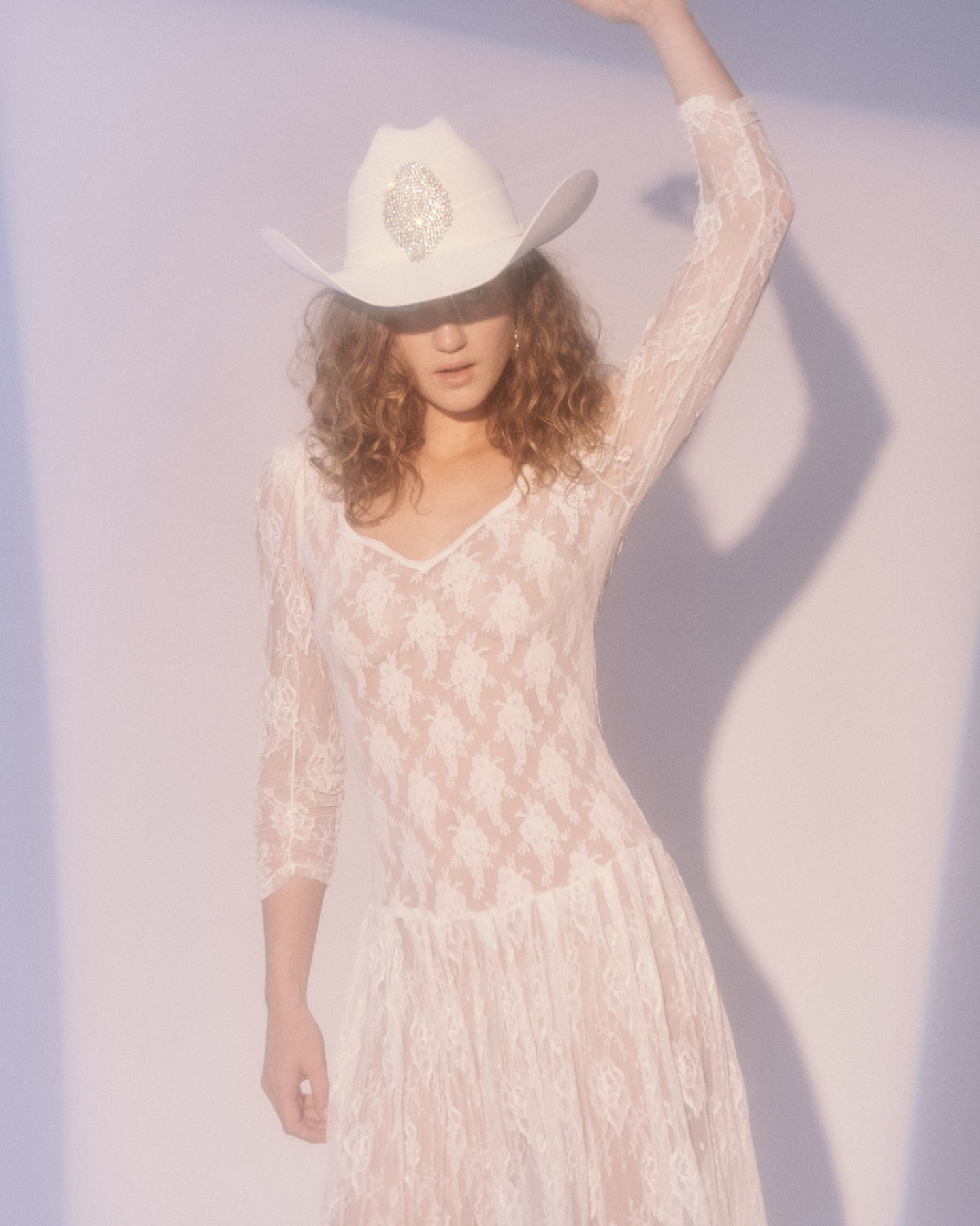 Jolene White Lace Dress