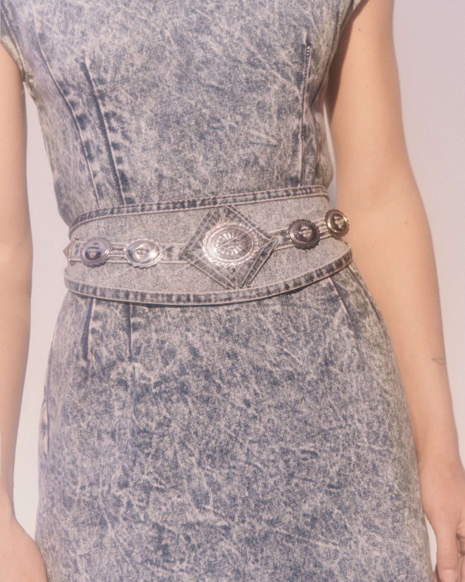Thelma Denim Belt