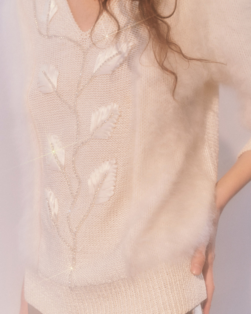 Sweet Dreams are made of this  // Angora Sweater