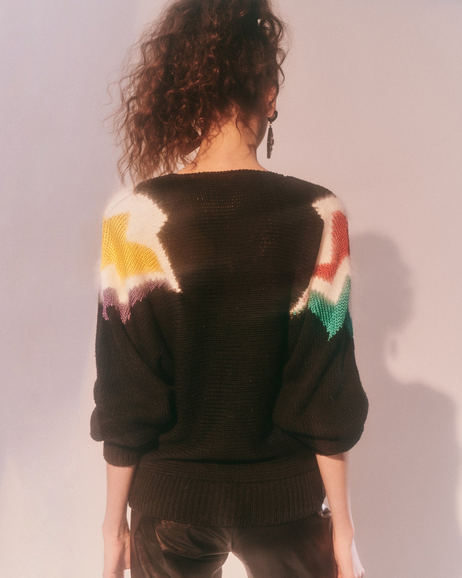 Super Freak // Intarsia sweater