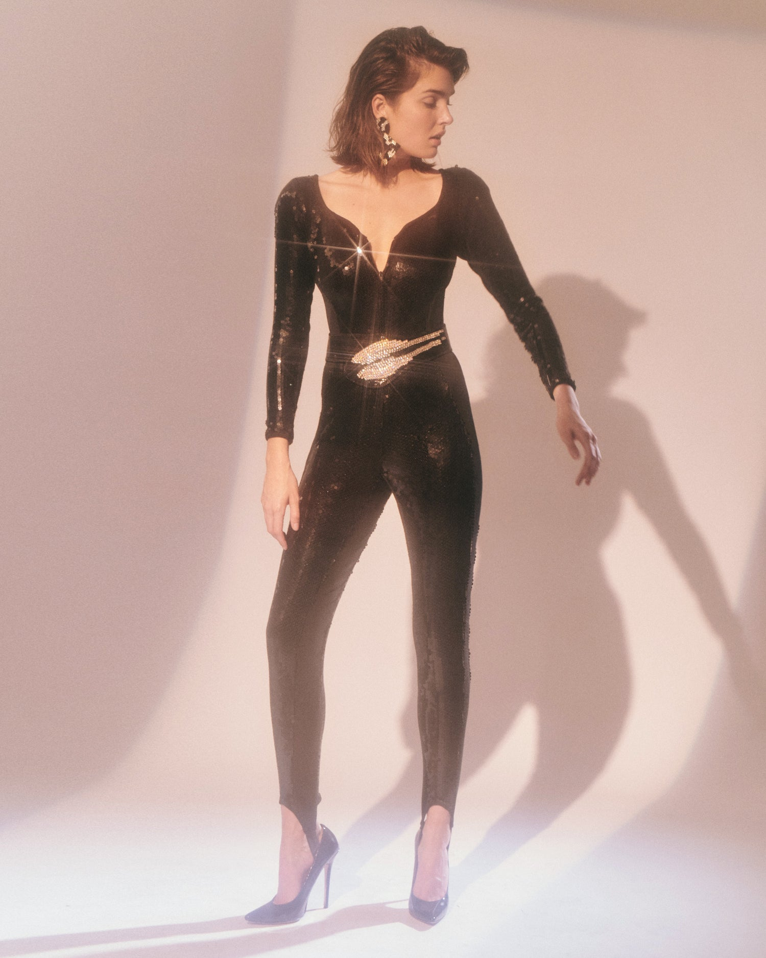She Got the beat // Sequin Catsuit