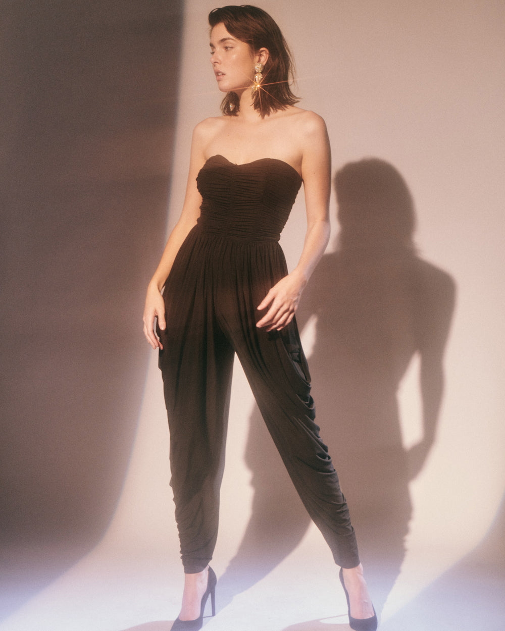 Dancing in the Shadows // Harem Jumpsuit