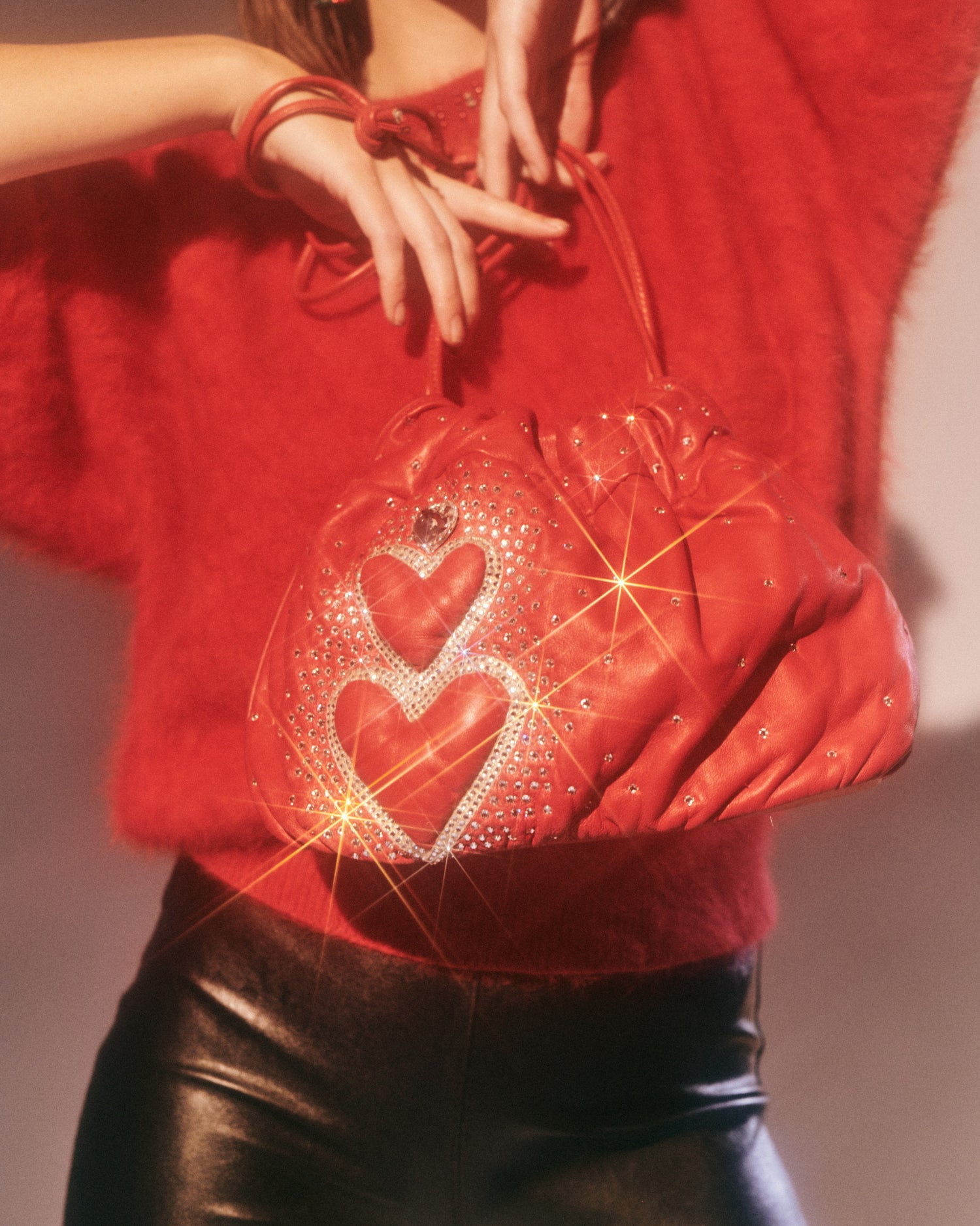 Heartbeat City // Leather Bag