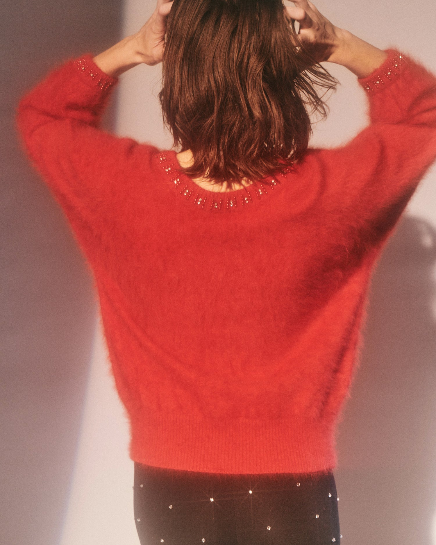 Love is a Stranger // Angora sweater