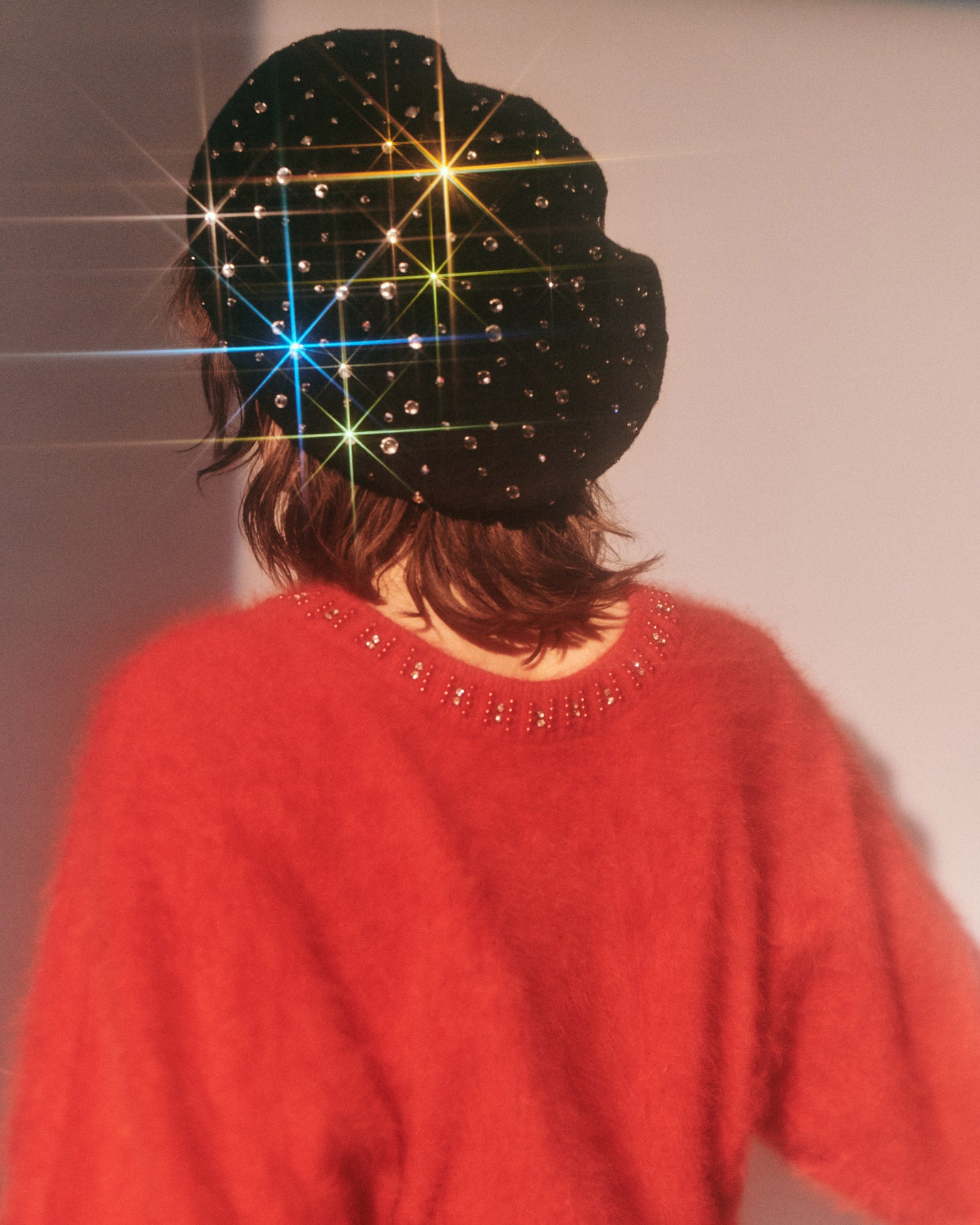 Night Fever // Rhinestone Beret
