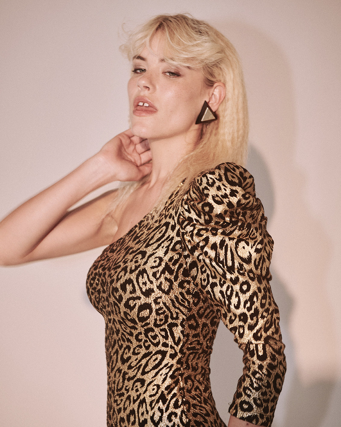 Maneater Leopard Dress