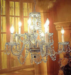 Antique Vintage Crystal Chandelier  Light Original Ornate Pendant Fixture lamp..........