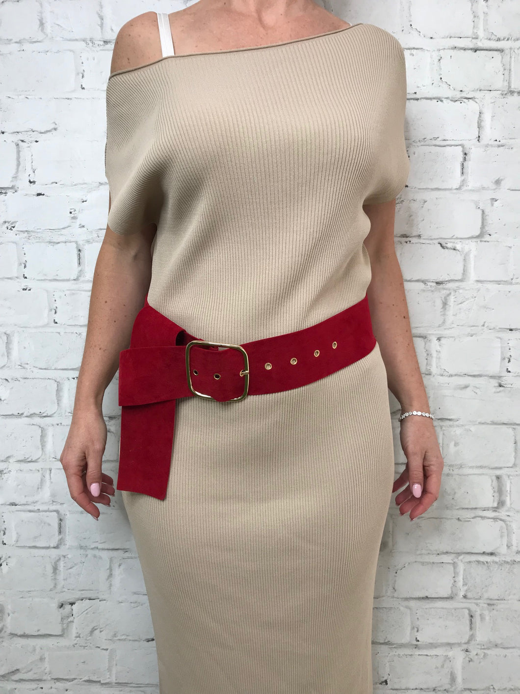 Bianca Belt - Red