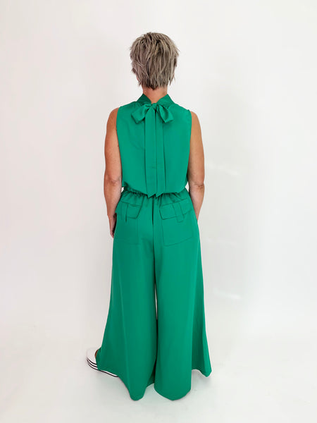 Rita Top - Emerald Green