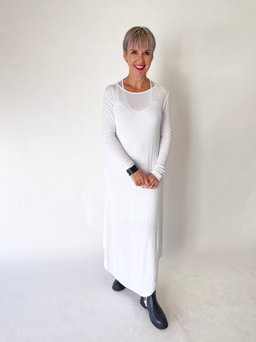 Layer Dress - White PRE-ORDER